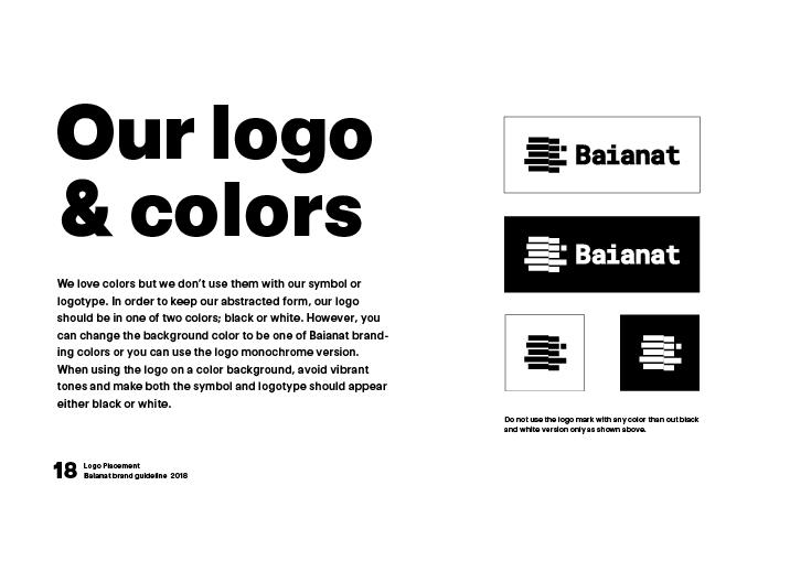 Logo usage and options