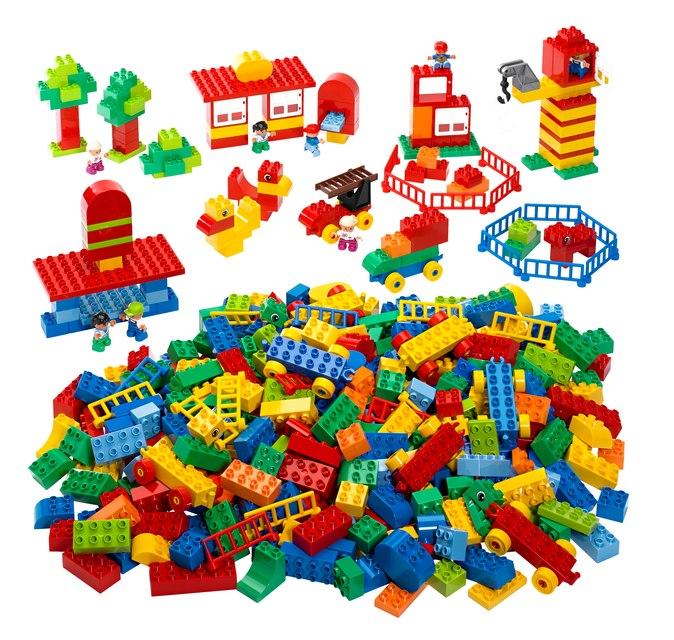 Components re-usability resembles that of LEGO blocks