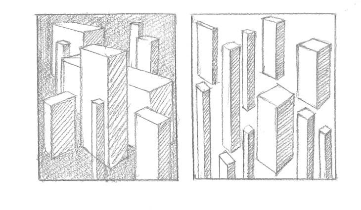 الرسم من منظور ثلاثي الأبعاد اسكتش بيانات