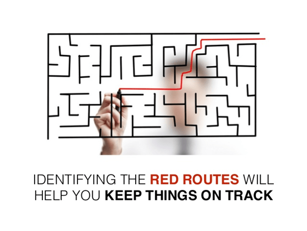 Red routes